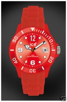 Ice Watch - SIRDUS09 - Red Silicone Watch * 100% Authentic ICE WATCH $79