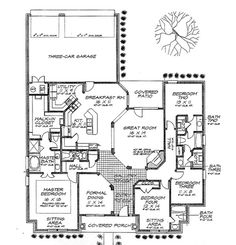 images about maison campagne on Pinterest   New England     Floor  Cottage Style House Plans  Colonial House Plans    Plan   Plan Plan  Cottage Main  Plan Main  Plan Houseplans