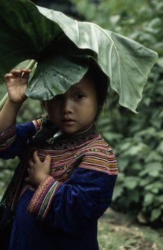 La bambina della minoranza etnica del #vietnam http://viaggivietnam.asiatica.com/