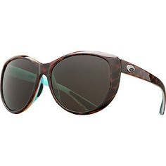 Costa Women's Kenny Chesney Limited Edition 2015 – La Mar Costa Women's Kenny Chesney Limited Edition 2015 - La Mar Round frames in a medium fit. Heavy-duty, TR-90 nylon frame. Integral hinge for a smooth open and close motion. Costa logo hit at temples. Lightweight, plastic lenses are scratch and impact resistant. 100% UV protection. 100% polarization cuts glare. Hard case included. All Costa sunglasses are handmade and backed by their lifetime warranty. Imported. http://www.ne..
