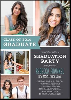 19 Best Graduation Announcements Images On Pinterest Graduation
