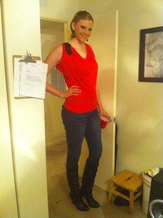 women taller than doorways by astrofos