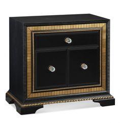 Granada Door End Table | Bassett Mirror Company | Home Gallery Stores