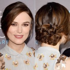 i like the back, not hte front Amazing Wedding Updos from Every Angle | InStyle.com