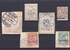 Albania 1913/18 - a small collection