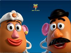Mr. & Mrs. Potato Head