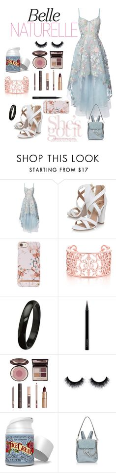 """""""Easter Sunday with B.A.P's Choi Junhong (Zelo)"""" by chelseabyg ❤ liked on Polyvore featuring Notte by Marchesa, Miss KG, MAC Cosmetics, Charlotte Tilbury and Chloé"""