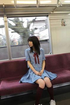 I wish my school uniform looked like this...With a longer skirt, ne? SEIFUKU♡L0VE