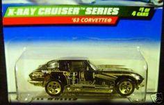 Mattel Hot Wheels 1999 1:64 Scale X-Ray Cruiser Series Black 1963 Corvette Die Cast Car 1/4 by Mattel. $2.19. Mattel Hot Wheels 1999 1:64 Scale X-Ray Cruiser Series Black 1963 Corvette Die Cast Car 1/4