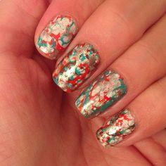 #notd #nails #nailart #nailporn #nailswag #nailstagram #nailartoftheday #nailsofinstagram #christmas #christmasnails #amkhairspray !!!