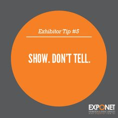 Exhibition and Trade Show Tips for Exhibitors, by ExpoNet.