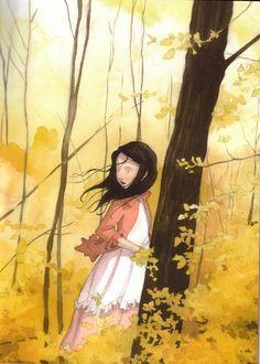 çizgili masallar: Snow White by Quentin Gréban