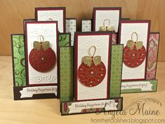 CCC12 August Holiday Happiness by Arizona Maine - Cards and Paper Crafts at Splitcoaststampers