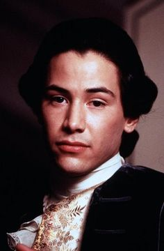 Keanu Reeves in Dangerous Liaisons directed by Stephen Frears, 1988