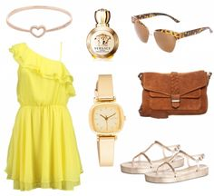 #Sommeroutfit Sunshine ♥ #outfit #Damenoutfit #outfitdestages #dresslove