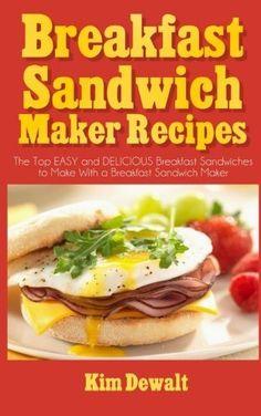Sandwich Maker Recipes, Breakfast Sandwich Recipes, Waffle Sandwich, Breakfast Bites, Bacon Waffles, Nutritious Meals, Dinner Recipes, Cooking, Top
