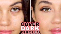 How To Cover Dark Circles and Bags Under Eyes   How to Color Correct   Eman - YouTube