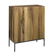 For Sale on - The sideboard Fariba is particularly striking with its vertical display of solid wood grain. FARIBA elegantly highlights the combination of solid wood Vintage Sideboard, Modern Sideboard, Sideboard Cabinet, Solid Wood Shelves, Design Furniture, Brushed Stainless Steel, Steel Frame, Wood Grain, Storage