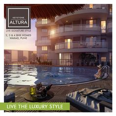 With Keystone Altura, a lifestyle with a fine taste for life & exclusivity in 2, 3 & 4 BHK Homes. www.keystonelifespaces.com #wakad #Residential #homes #lifestyle