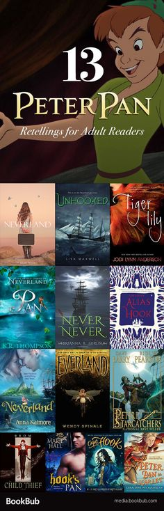 13 fairytale retellings for teens or for adult readers. These Peter Pan retellings are magical stories to escape into!