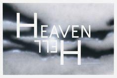 "Ed Ruscha ""Heaven Hell"""
