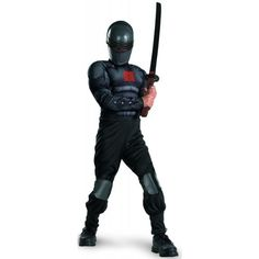 Disguise G.I. Joe Retaliation Snake Eyes Light up Deluxe Muscle Chest Child Costume Disguise. $26.03. Save 70%!