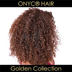#ONYCHair Golden Collection takes the fuss out of coloring Extensions!  Get your colored #hair like this #ONYCBeauty rocking #ONYC Kinky Curly 3B-3C colors #4 and #2.  Shop US Now>>> ONYCHair.com Shop UK Now>>> ONYCHair.uk Shop NG Now>>> ONYCHair.ng