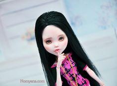 Monster High Custom, Doll Repaint, Custom Dolls, Disney Characters, Fictional Characters, Disney Princess, Art, Art Background, Kunst