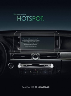 #Lexus Brings NFC-Enabled Print Ad to Wired Magazine - LindsayLexus.com