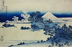 @Regrann from @britishmuseum - Katsushika Hokusai died #onthisday in 1849. Hokusai is one of the most famous Japanese artists and a key figure of the ukiyo-e ('floating world') school. This print is from his series Fugaku sanjūrokkei ('Thirty-six Views of Mt Fuji') made around 18291832. The major factor in establishing landscape as a new genre of ukiyo-e print was probably the sudden availability in the later 1820s of the new cheap Berlin blue pigment. This strong brilliant pigment could be…