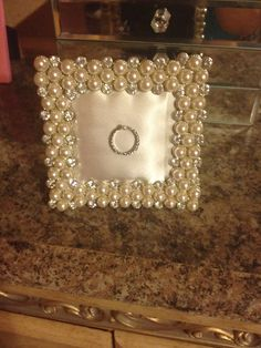 Project #7: wedding ring holder