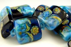 Sunflower Nugget Beads | Andie's Glass | Andree Kosak