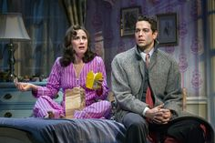 Laura Benanti and Zachary Levi in She Loves Me.