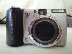 Canon PowerShot A650 IS 12.1 MP Digital Camera
