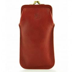 Il Bisonte Frame Glasses Case - Accessories - Men   Hunt Leather