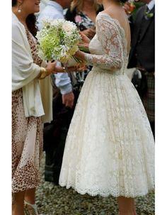 Robe de mariée vintage année 50