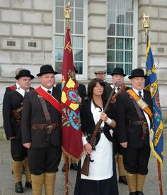 #ULSTER #COVENANT #PARADE,#BELFAST,#NORTHERN #IRELAND.2012.