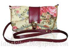 Clutch Claudia (bolsa-carteira) / Clutch bag