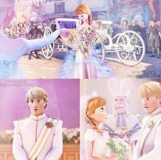 There should be a second frozen and something happens and they get married An: There IS gonna be a second frozen do your research