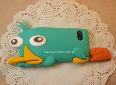 iphone5 iphone4 s Cute Perry the Platypus  case