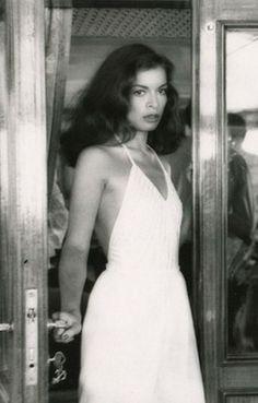 Bianca Jagger Slip Wedding Dress 1970s Mick