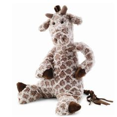 Chequers Giraffe by Jellycat at The Garden Gates I wouldn't be sticking my neck out by saying that children of every age love this soft and cuddly giraffe. Made by Jellycat. Giraffe Nursery, Best Baby Gifts, Jellycat, Wishes For Baby, Baby Crafts, Dinosaur Stuffed Animal, Stuffed Animals, Stuffed Giraffe, Stuffed Toys