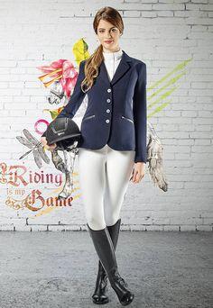 Jackets & Turniershirts : Equiline Damen Turnierjacket Michelle