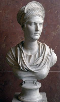 Bust of Salonina Matidia, niece of Emperor Trajan and wife of Emperor Hadrian (Musée du Louvre)