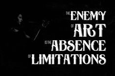 """The enemy of art is the absence of limitations."" – Orson Welles #quote #art #limitations #OrsonWelles http://marketingtrw.com/blog/the-enemy-of-art-is-the-absence-of-limitations-orson-welles-quote-art/"