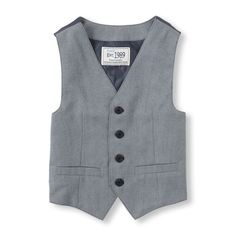 The Childrens Place - Your fancy boy will love to wear this vest for every special occasion!