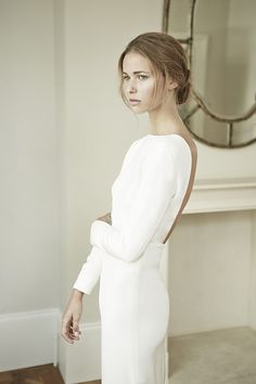 Stunning Wedding Dresses from Charlotte Simpson | See the entire collection on www.onefabday.com