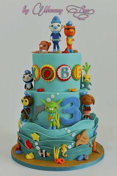 Octonauts Themed Cake - by JASCakebyMommySue @ CakesDecor.com - cake decorating website