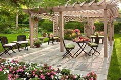 Backyard design 6