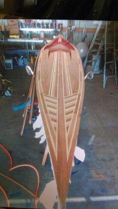 17' cedar strip kayak